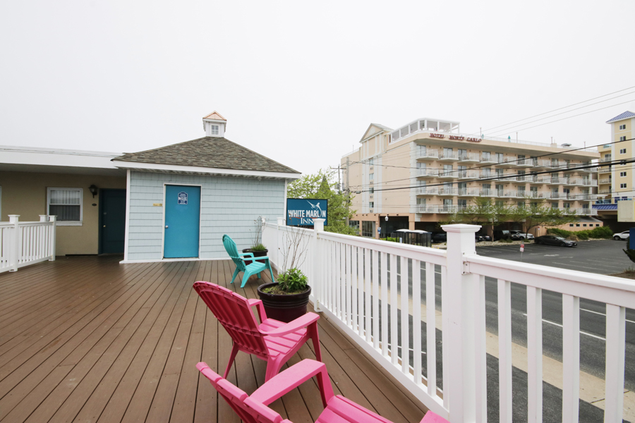 White Marlin Inn Deck Facing East