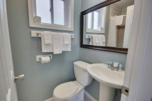 white bath towels soap toilet